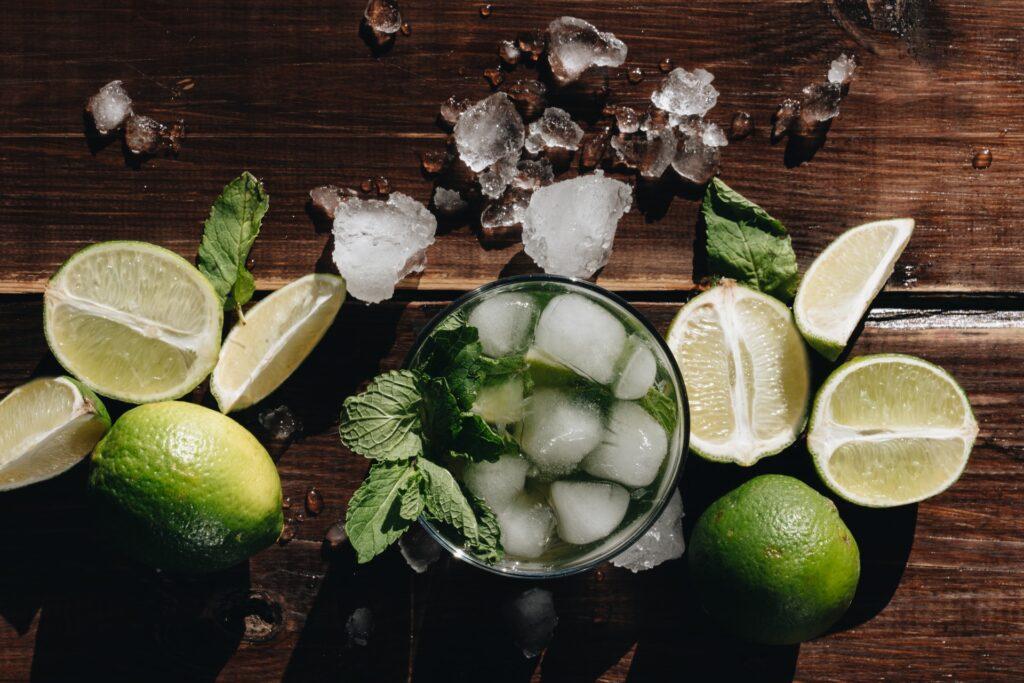 mix in something seasonal to create siganture cocktail