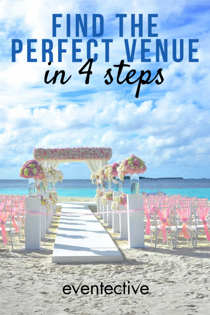 finding the perfect venue in four steps